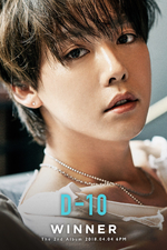 WINNER Jinu Everyd4y promo photo