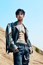 PENTAGON Hongseok Basquiat concept photo (1)