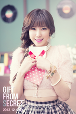 Secret Jun Hyo Sung Gift From Secret concept photo