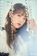 IZONE Choi Ye Na Heart IZ concept photo Sapphire ver