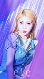 LOONA YeoJin eLe Magazine September 2020