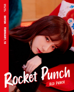 Rocket Punch Suyun Red Punch concept photo