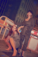 MAMAMOO Blue;s Hwasa & Wheein concept photo