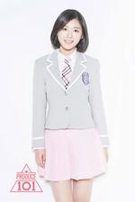 Produce 101 Ma Eun Jin promo photo (1)