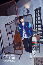 Wanna One Hwang Min Hyun Light promo photo 2