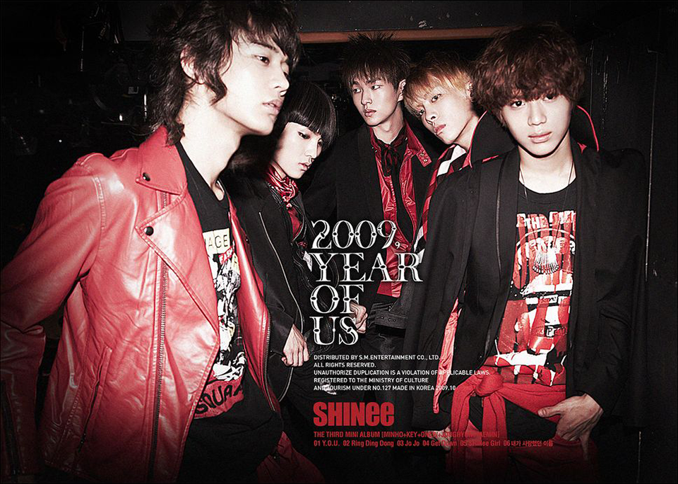 Kết quả hình ảnh cho SHINee: 2009, Year of Us