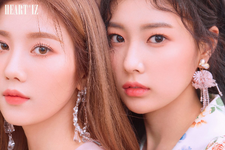 IZONE Kwon Eun Bi Kang Hye Won Heart IZ unit photo photo