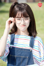 Fromis 9 Jiheon To. Day promo photo