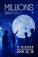 WINNER Millions credits poster