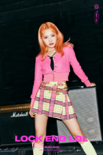 Weki Meki Rina Lock End LOL concept photo 2