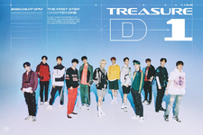 TREASURE The First Step - Chapter One D-1 poster