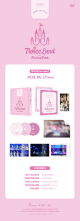 TWICELAND Fantasy Park DVD detail