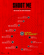 DAY6 Shoot Me Youth Part 1 schedule announcement