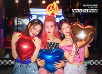 MOMOLAND Fun to The World unit photo teaser 2 Taeha & Joo E & Daisy