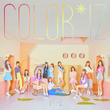 IZONE Color IZ digital album cover