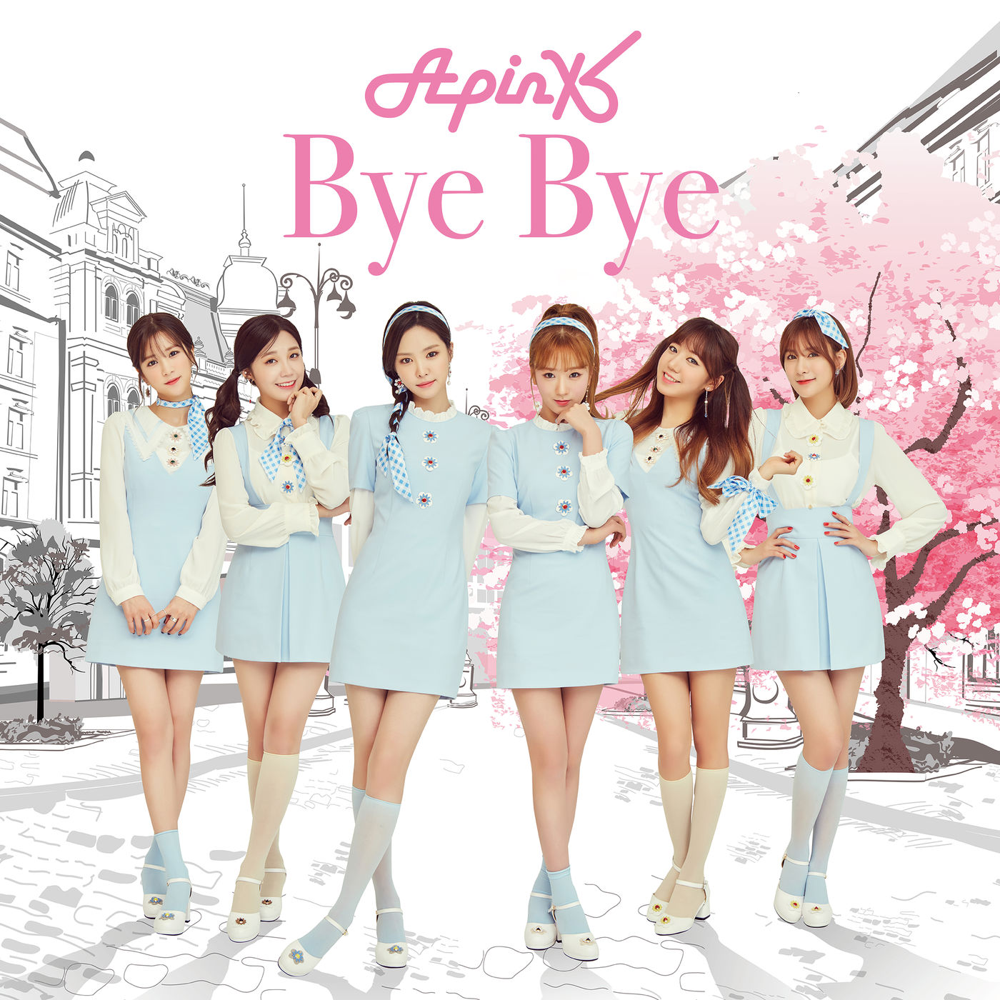 Apink Bye Bye limited edition C cover art.png
