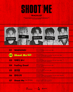 DAY6 Shoot Me Youth Part 1 tracklist