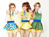 Orange Caramel Lipstick group promo photo