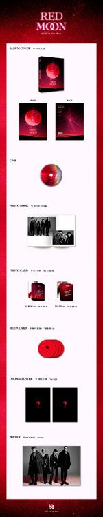 KARD Red Moon album packaging