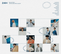 SEVENTEEN 24H Limited Edition C album cover