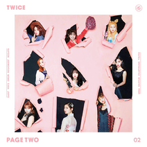 Twice Page Two Pink Album Cover