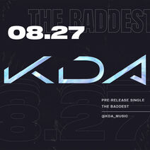 KDA The Baddest Digital