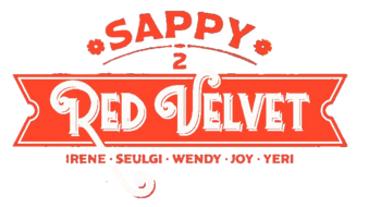 Red Velvet Sappy Logo