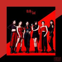 (G)I-DLE Oh My God Japanese ver Album Cover