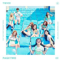 TWICE Page Two Digital Album Cover
