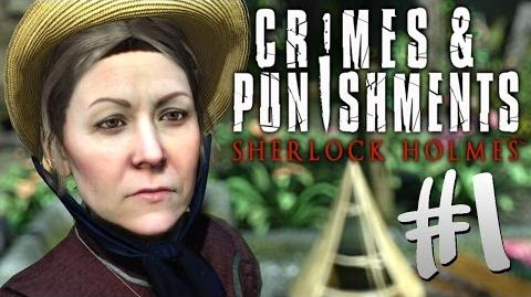 Detective KPopp as Sherlock Holmes in Crimes & Punishments 1 (Let's Play)