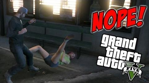 GTA V - NOPE! (Silly Moments)