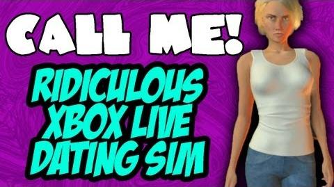 CALL ME! Ridiculous Xbox Live Dating Simulator