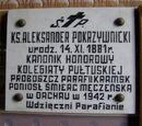 Ks. kan. Aleksander Pokrzywnicki