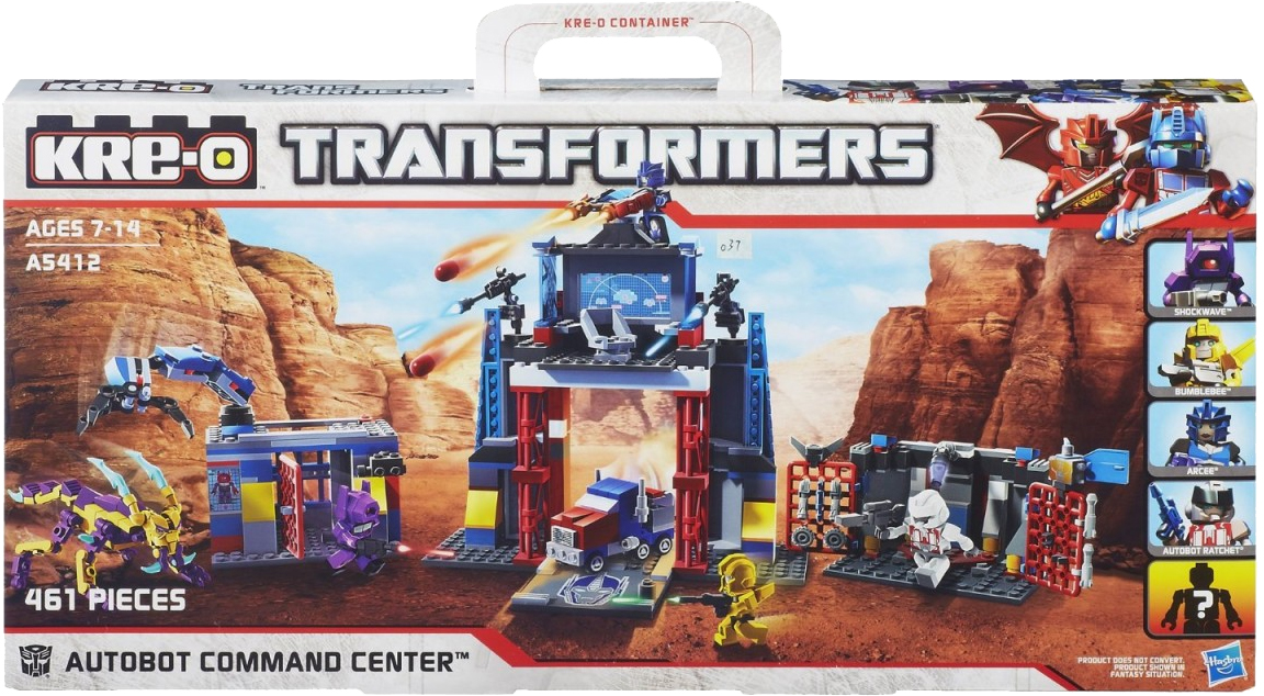 Hasbro kre-o transformers autobot ratchet construction toy/ game.