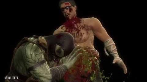 Mortal Kombat Reptile Story (2011)