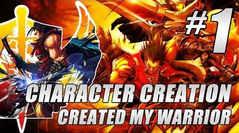 Kritika Online Gameplay 1 ★ Character Creation ★ Created My Warrior