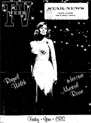 Really Raquel - Star-News 3-3-74 Cover