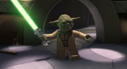 Yoda w jaskini