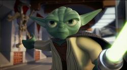 Yoda w pojedynku
