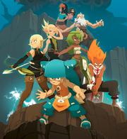 Brotherhood of the Tofu from Wakfu season 2 poster