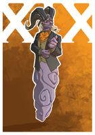 Demon XIX by Dan Qualizza