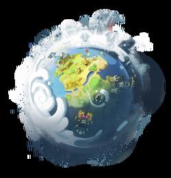 World of Twelve planet Dofus trans bg