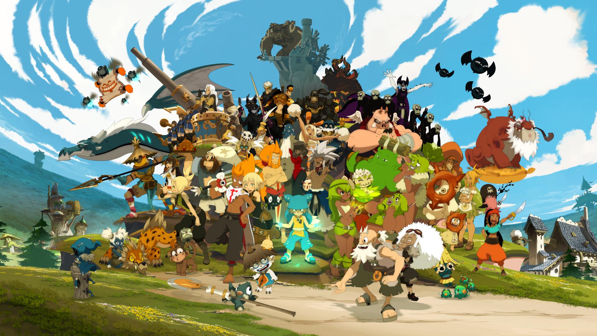 Wakfu dub Kickstarter poster