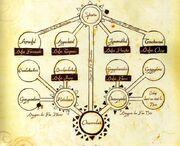 Arbre genealogique dragon dofus