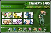 Thomas Pokemon Team