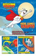Krypto the Superdog issue 1 page 1