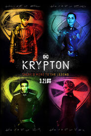 Krypton Cover Poster