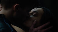 Seg-El & Lyta-Zod reunite