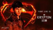 Krypton key art - Fight Like El