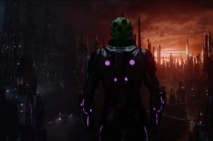Brainiac arrives at Krypton